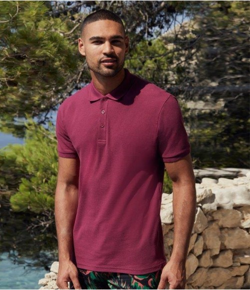 SS5 Fruit of the Loom Premium Cotton Pique Polo Shirt