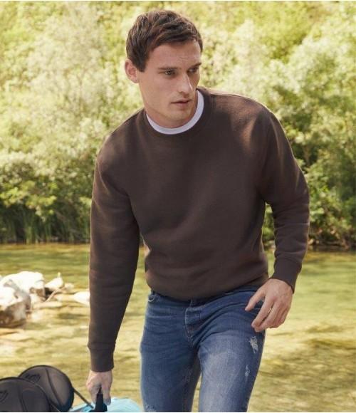 SSE9 Fruit of the Loom Premium Drop Shoulder Sweatshirt