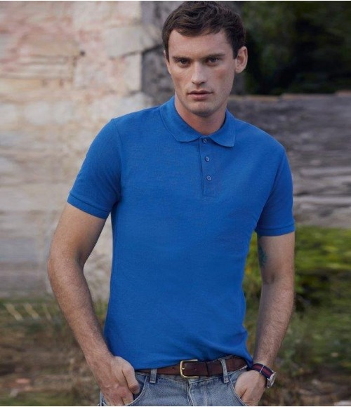 SS221 Fruit of the Loom Tailored Poly/Cotton Pique Polo