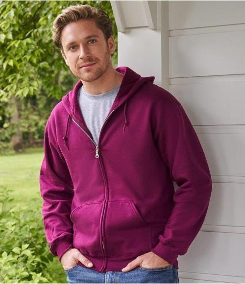 GD58 Gildan Heavy Blend Zip Hooded Sweatshirt