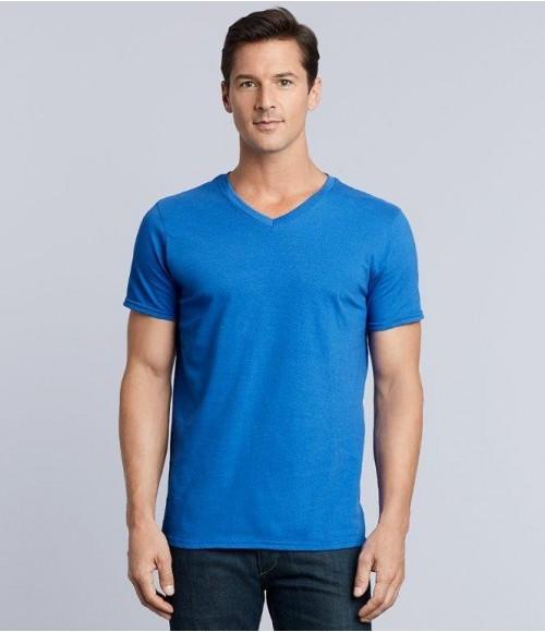 GD10 Gildan SoftStyle® V Neck T-Shirt