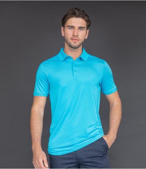 H460 Henbury Slim Fit Stretch Microfine Pique Polo Shirt
