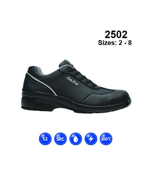 Himalayan 2502 Ladies Lace-Up Safety Shoes