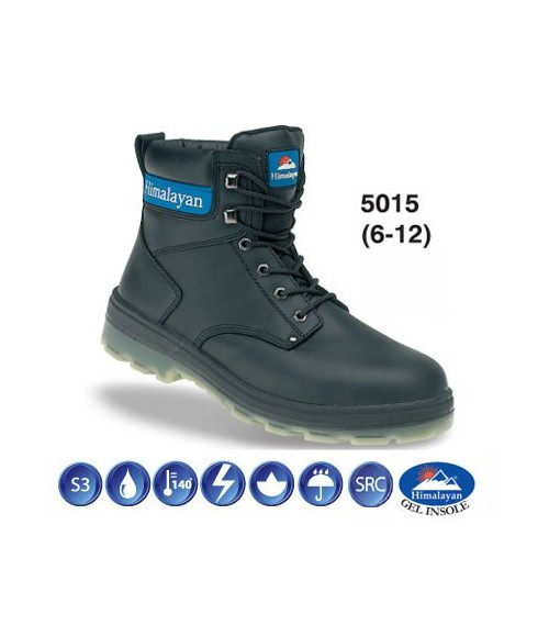 5015 HIMALAYAN Black Safety Boot
