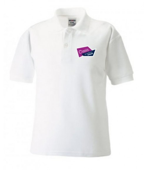 Nunsthorpe Polo Shirt-White-Adult