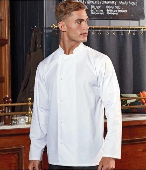 PR901 Premier Essential Long Sleeve Chef's Jacket