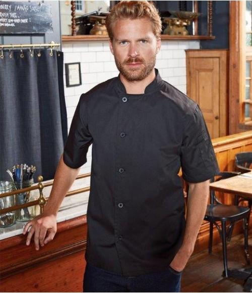 PR900 Premier Essential Short Sleeve Chef's Jacket