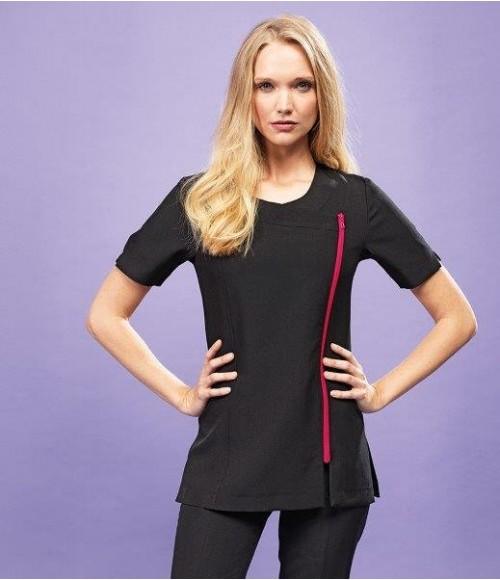 PR686 Premier Ladies Camellia Short Sleeve Tunic