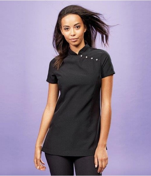PR681 Premier Ladies Mika Short Sleeve Tunic