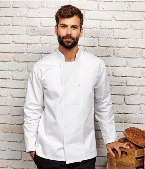 PR657 Premier Long Sleeve Chef's Jacket