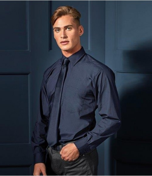 PR200 Premier Long Sleeve Poplin Shirt