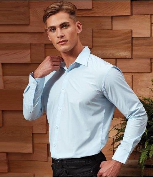 PR207 Premier Supreme Long Sleeve Poplin Shirt