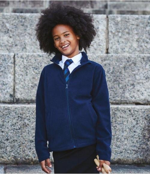 RG258 Regatta Kids Brigade II Micro Fleece Jacket