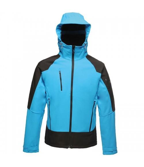 RG355 Regatta Powergrid Hooded Soft Shell Jacket