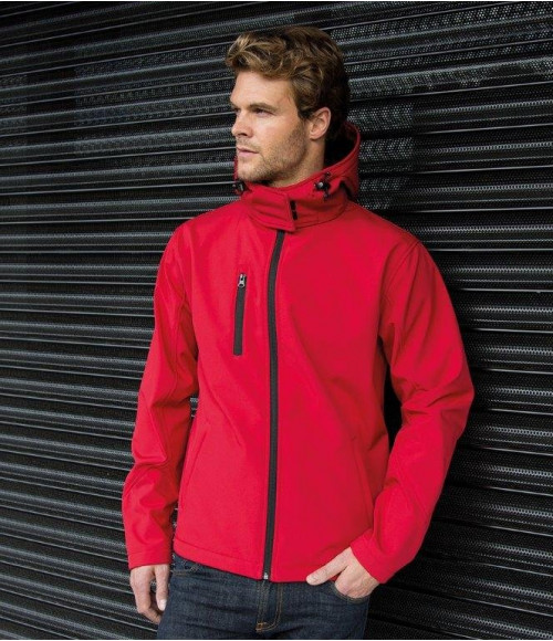 RS230M Result Core Hooded Soft Shell Jacket