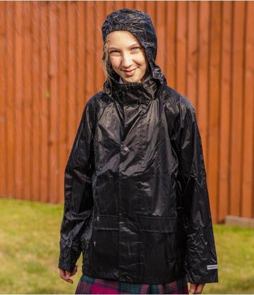 RS227B Result Core Kids Waterproof Over Jacket