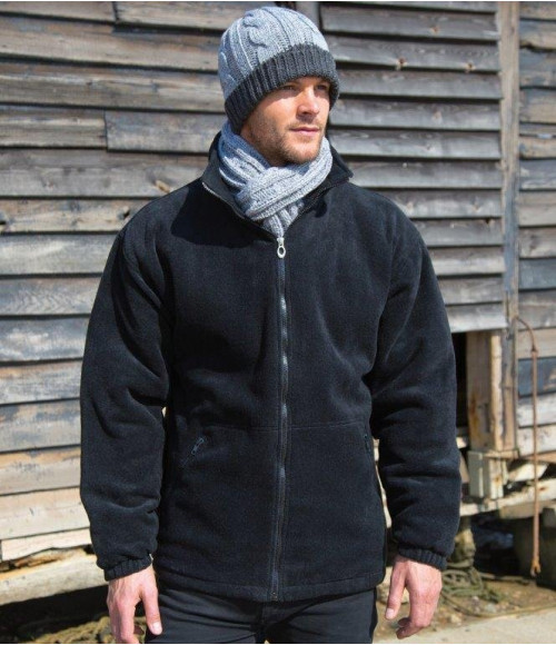 RS219 Result Core Polartherm Quilted Winter Fleece Jacket