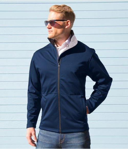 RS209M Result Core Soft Shell Jacket
