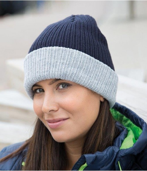 RC378 Result Double Layer Knitted Hat