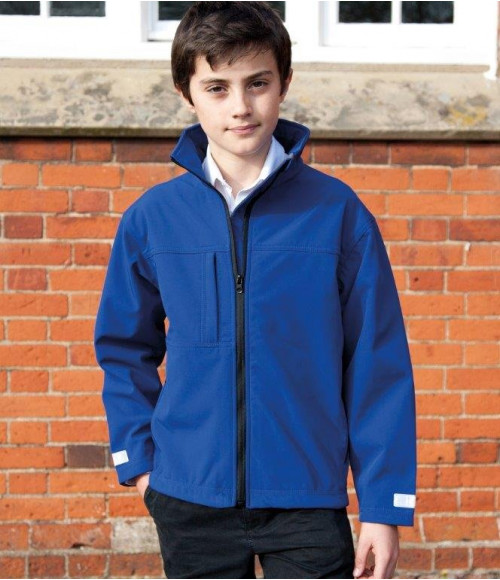 RS121B Result Kids Classic Soft Shell Jacket