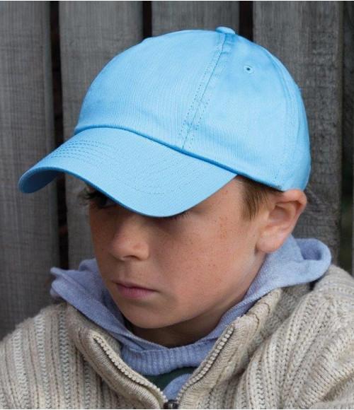 RC018B Result Kids Low Profile Cotton Cap