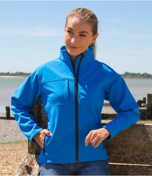 RS121F Result Ladies Classic Soft Shell Jacket
