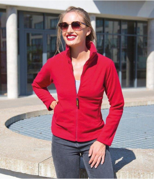 RS115F Result Ladies Horizon High Grade Micro Fleece Jacket