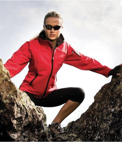 RS122F Result Ladies Soft Shell Jacket