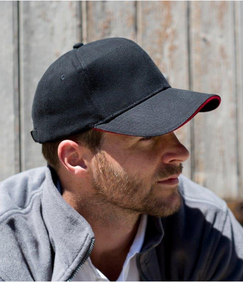RC025P Result Pro-Style Heavy Brushed Cotton Cap