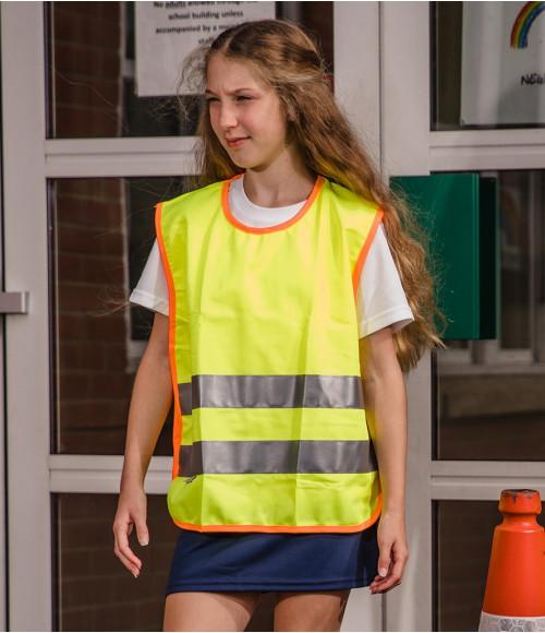 RS212B Result Safe-Guard Kids Hi-Vis Tabard
