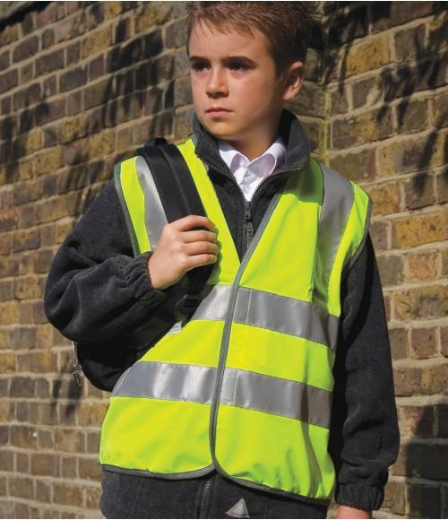 RS21B Result Safe-Guard Kids Hi-Vis Vest
