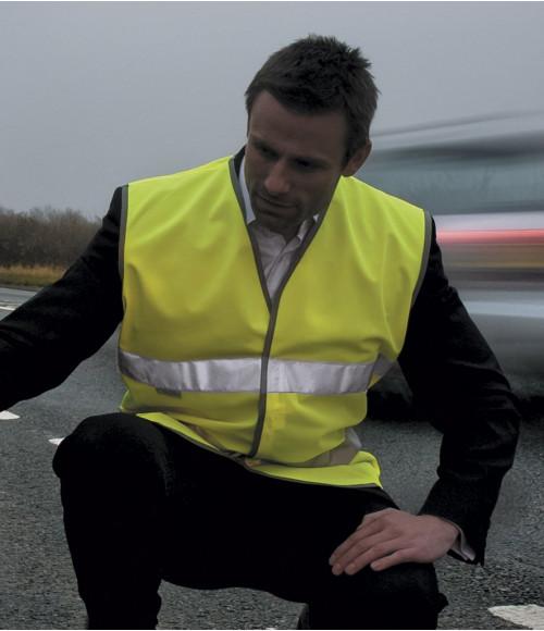 RS211 Result Safe-Guard Motorist Hi-Vis Safety Vest