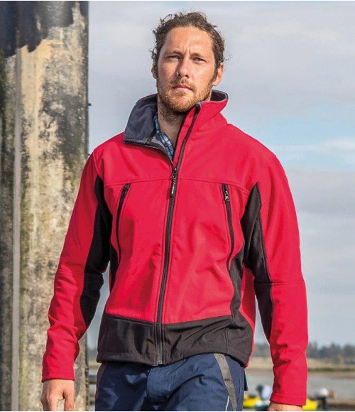 RS120 Result Soft Shell Activity Jacket