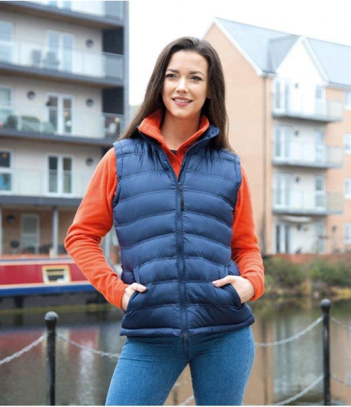 RS193F Result Urban Ladies Ice Bird Padded Gilet