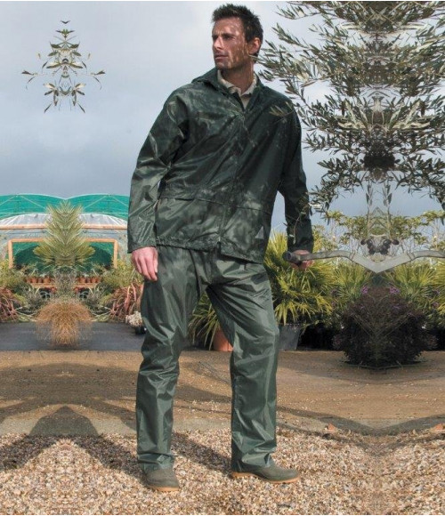 RS95 Result Waterproof Jacket/Trouser Suit in Carry Bag