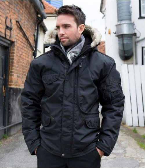 Result Work-Guard Ultimate Storm Cyclone Parka Jacket
