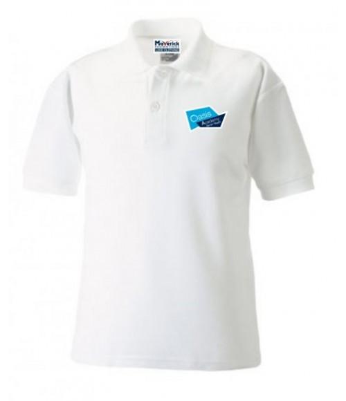 Short Heath- Adult Logo Polo Shirt