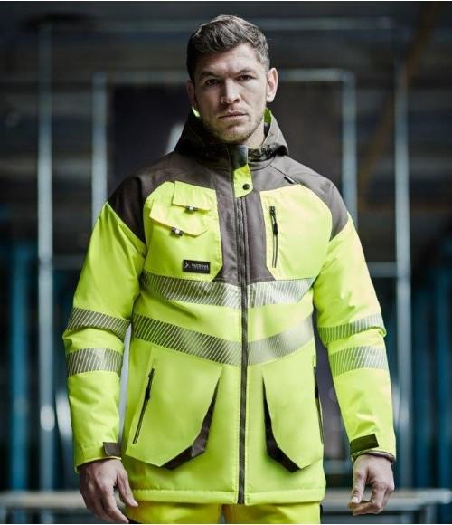 TS012 Tactical Threads Hi-Vis Parka Jacket