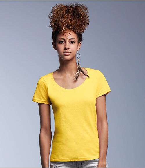 Anvil Ladies Sheer Scoop Neck T-Shirt