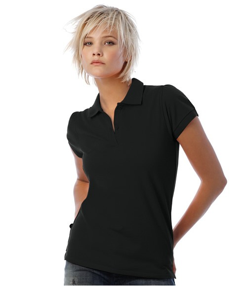 B&C Ladies Heavymill Cotton Pique Polo Shirt