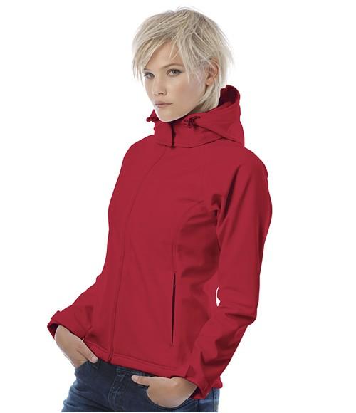 B&C Ladies Hooded Soft Shell Jacket