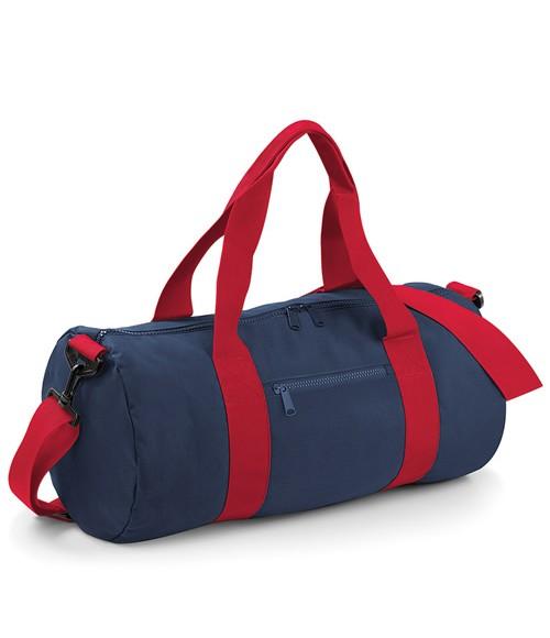 BagBase Varsity Barrel Bag