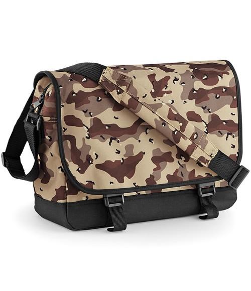 BagBase Camo Messenger Bag