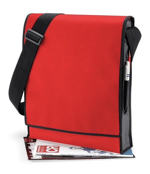 BagBase Budget Vertical Messenger Bag