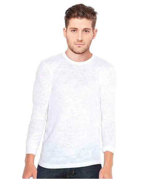 Canvas Burnout Long Sleeve T-Shirt