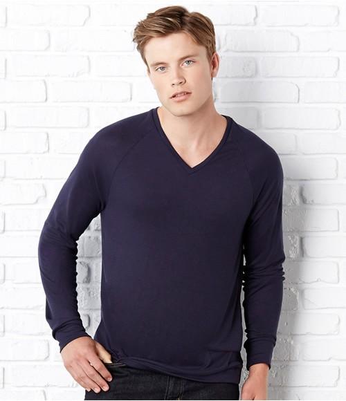 Canvas Unisex Lightweight V Neck Sweater