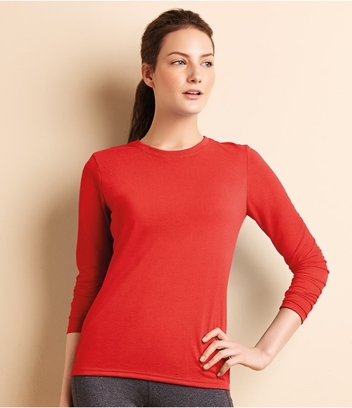 Gildan Ladies Performance Long Sleeve T-Shirt