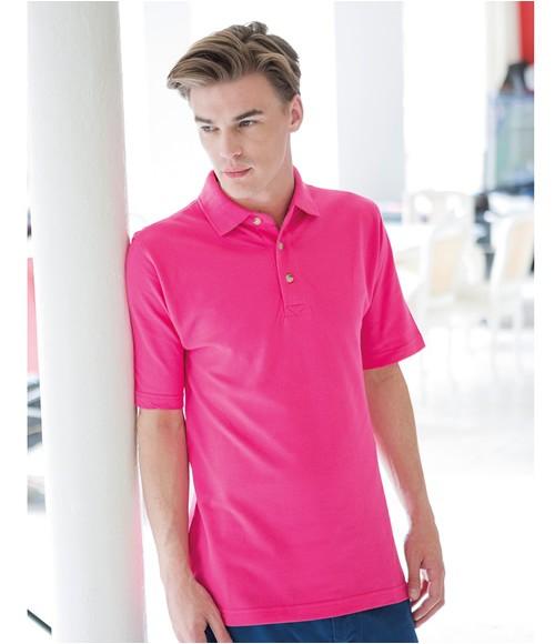 Henbury Classic Heavy Cotton Pique Polo Shirt