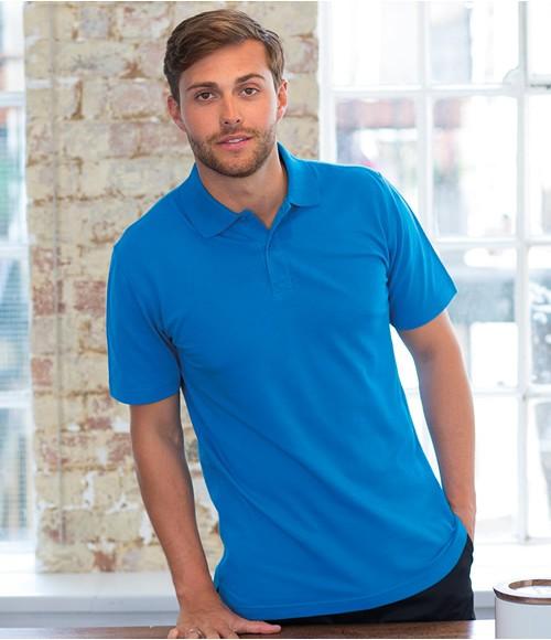 Henbury Stretch Cotton Pique Polo Shirt