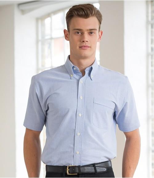 Henbury Short Sleeve Classic Oxford Shirt